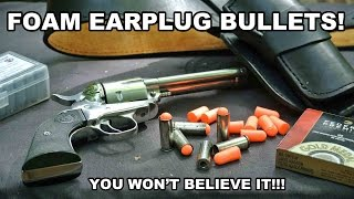 Foam Earplug Bullets! You Won