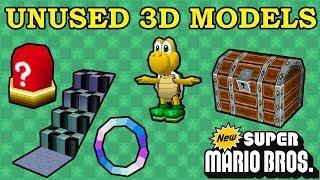 Unused Models in New Super Mario Bros DS