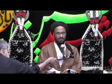 Majlis-Night Of 6th Muharram 1438 By Maulana Syed Moosa Raza Naqvi In Darbar-e-Masumeen.