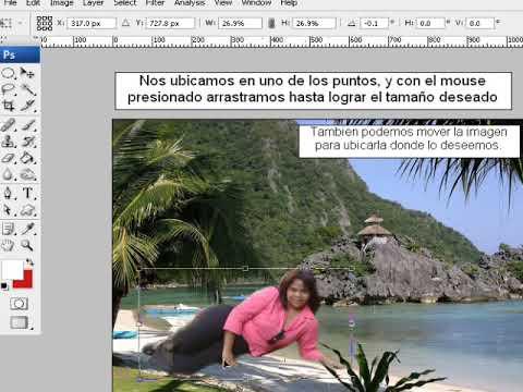 Extraer un objeto de imagen con Photoshop.