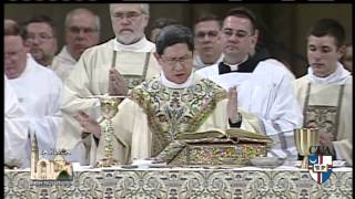 Catholic Univ. of America-  Baccalaureate Mass - 2014-5-16- Card.Tagle
