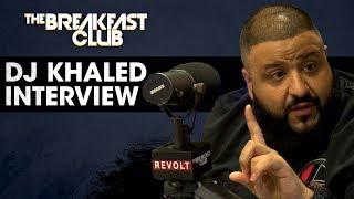 DJ Khaled Speaks On His Relationship With Birdman, His New Jordan Sneaker & Dropping New Music