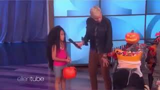 Ellen DeGeneres made fun of the Cardi B and Nicki Minaj feud on her show.