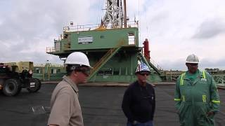 Pa. Marcellus Shale Cabot Oil and Gas Corp. drilling rig