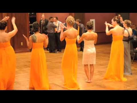 Bridesmaids and Groomsmen Dance Off