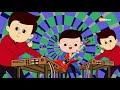 Here We Go Round The Mulberry Bush (HD)   3D Rhymes & Songs For Children   Shemaroo Kids