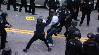 RECAP: Baltimore protests turn violent over the death of Freddie Gray