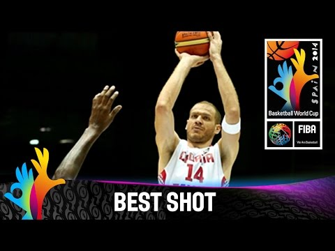 Croatia V Philippines - Best Shot - 2014 Fiba Basketball World Cup video