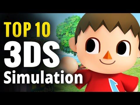 Top 10 Nintendo 3DS Simulation Games | 3DS Sim Games