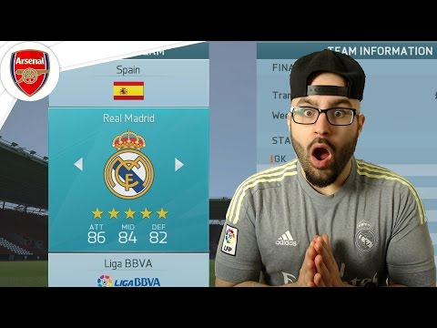 NEW REAL MADRID MANAGER! - Arsenal Career Mode FIFA 16 #31
