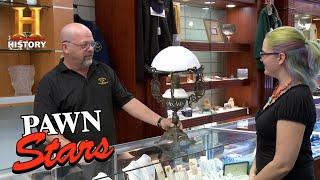 Pawn Stars: Sailing Ship Oil Lamp   History