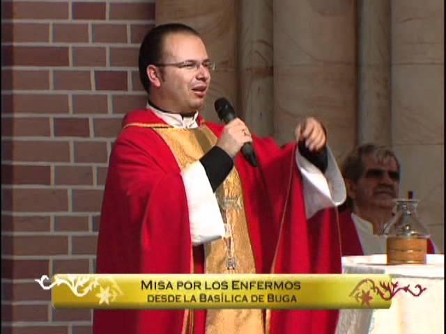Padre Aicardo en la Homilía de la Eucaristía de Sanación (14/04/11)