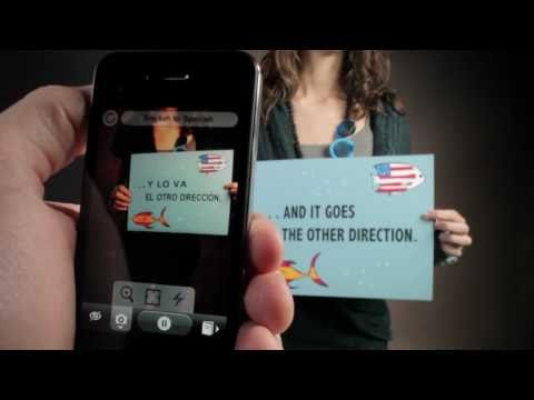 Thumb Word Lens: Translation with Augmented Reality, iPhone App