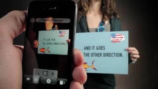 Thumb Word Lens: iPhone App que traduce con Realidad Aumentada y Reducida