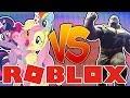 MY LITTLE PONY vs THANOS Roblox Animatronic World.mp3