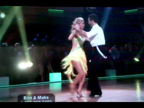 Erin Andrews on dancing with the stars