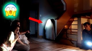 HAUNTED CABIN HIDE AND SEEK! *BOYS VS GIRLS*