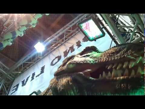 Dinosaur in Dubai Festival City ديناصور في دبي فيستيفال سيتي