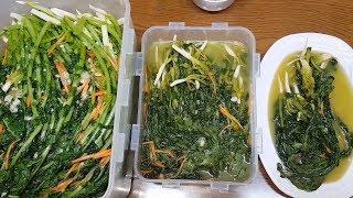 ☆열무김치ㅡOO을 넣으면 기가 막히게 시원하고 맛있습니다.☆★young radish kimchi★