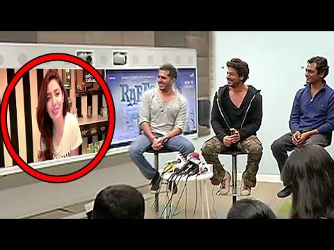 BANNED Raees Actress Mahira Khan's LIVE Chat From PAKISTAN With SRK,Nawazuddin thumbnail