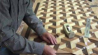 Woodworking Veneer inlay