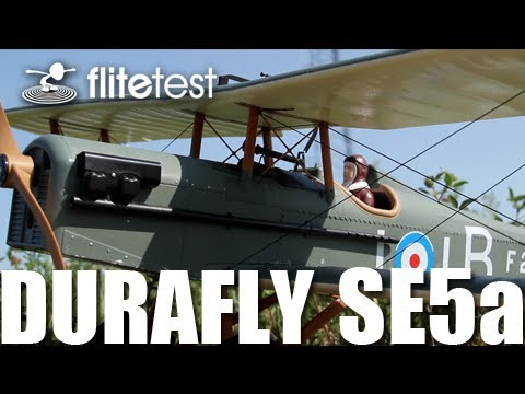 Flite Test - Durafly SE5a - REVIEW