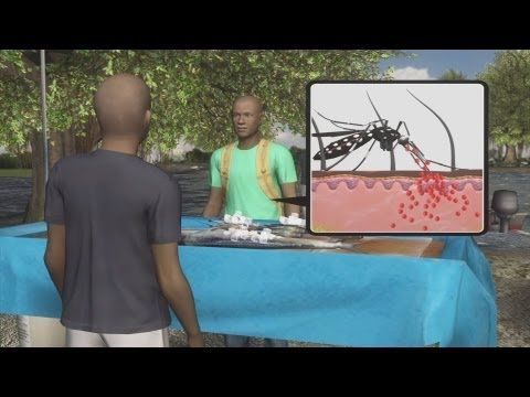 Cellphone tracks malaria in Kenya