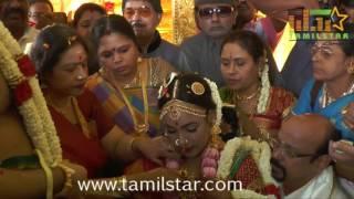 Actress Jayachitra Son Amresh Ganesh Wedding