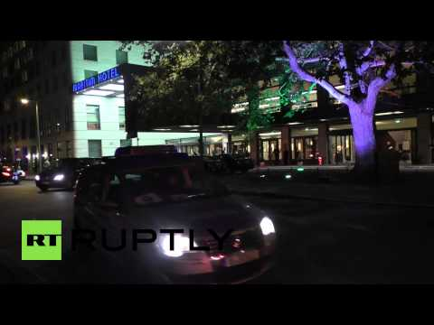 Germany: Heavy security surrounds Li Keqiang's arrival in Berlin
