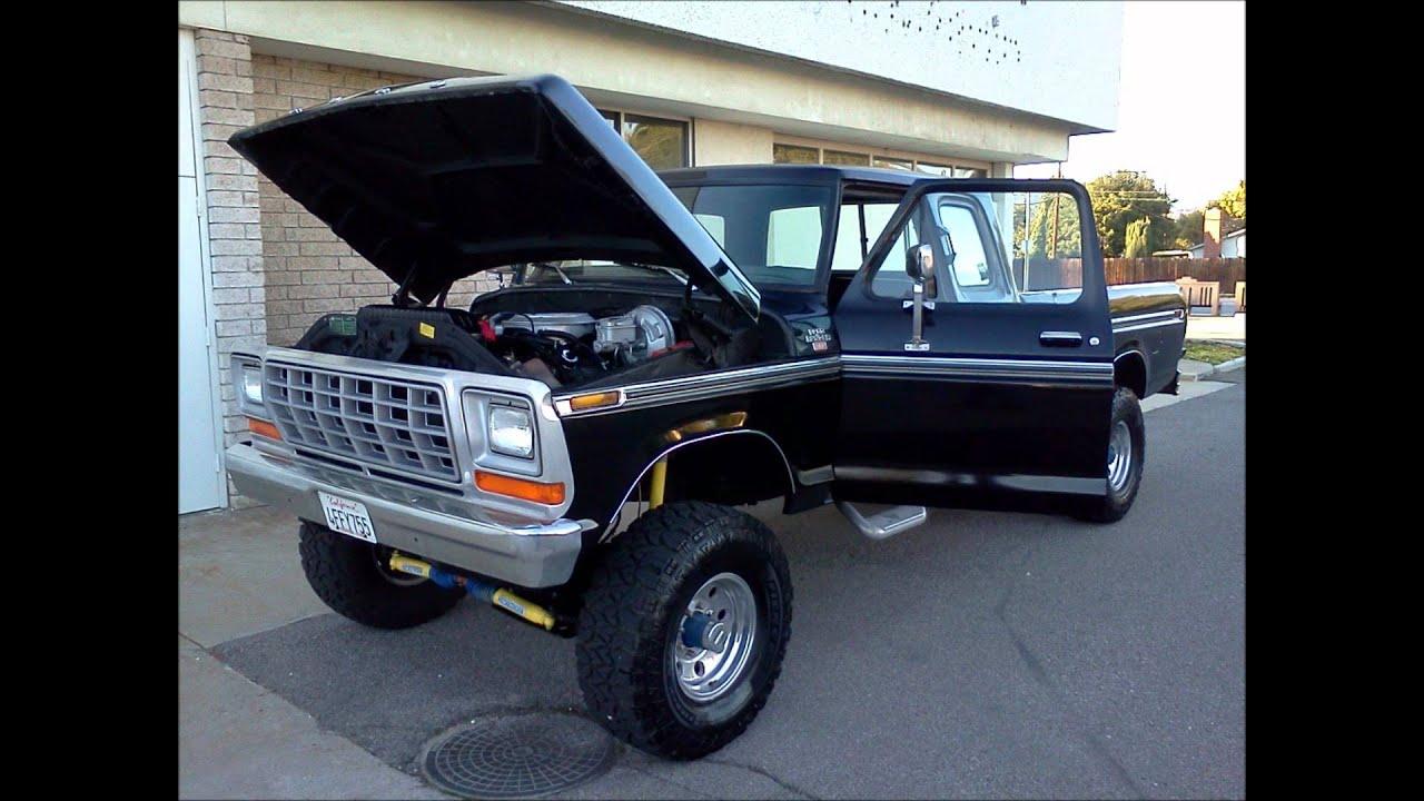 1979 BLACK SUPER CAB 4X4 - YouTube