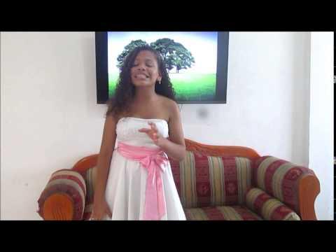 Audición la voz kids 2015 - Karen Aniza Osorio Vega.