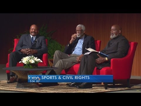 Legendary sports figures weigh in at Civil Rights Summit