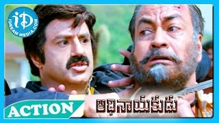 Adhinayakudu - Adhinayakudu Movie - Back To Back Action Scenes - Balakrishna