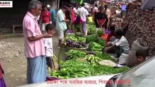 Fresh Vegitable Market At Shibpur,Narsingdi