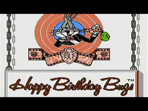 Bugs Bunny Birthday Blowout - NES Gameplay