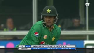 World's 3rd fastest ODI 150 by Sharjeel Khan. Pakistan vs Ireland 1st ODI 2016