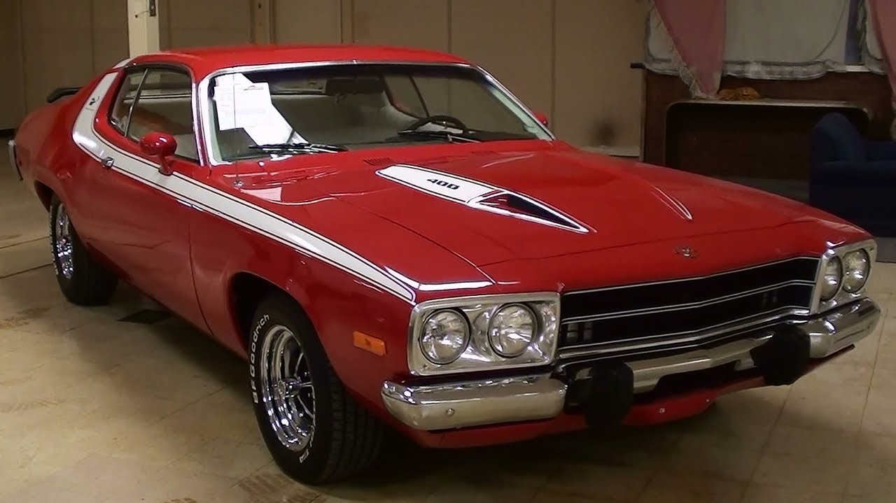 1973 Plymouth Road Runner 400 V8 Four Speed Youtube