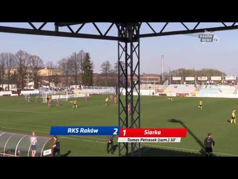Bramki Z Meczu. // RKS Raków - Siarka 4:2 // Raków News TV