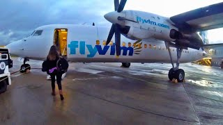 VLM are BACK! Fokker 50 flight experience, London City to Antwerp