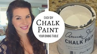 (10.2 MB) DIY Chalk Paint and Distress A Table Tutorial Mp3