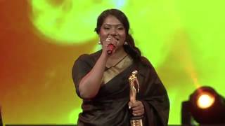 Female Vocalist of the year | Sayanora | Mirchi music awards south 2015