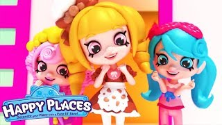 Shopkins | Happy Places The Lil' Shoppies of Happyville- HAPPY EASTER SPECIAL |Cartoons for Children
