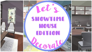 Let's Decorate: Sims 3 || Showtime House Edition - I LOVE THIS HHOOUUSSEEE!!!