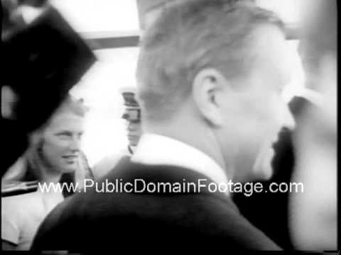 1967 Sharon Percy marries Jay Rockefeller - newsreel and archival footage