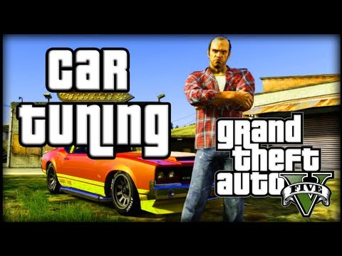 Grand Theft Auto V (GTA 5) Activities - Car Customization Options (Car Tuning)