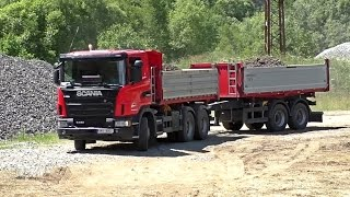 Scania G440 with trailer