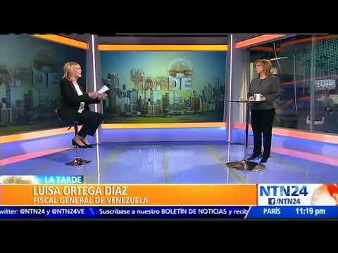 Luisa Ortega Díaz entregó más de 1600 pruebas de crímenes de lesa humanidad en Venezuela