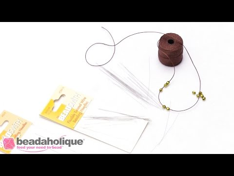 Product Demo: Beadsmith Twisted Wire Needles