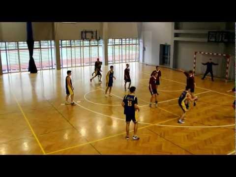 Mecz Piłki Ręcznej - Gimnazjum Nr 1 Vs Gimnazjum Nr 2 , Wadowice 30.03.2012