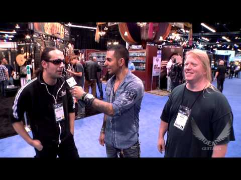 Dean Guitars Artist Karl Sanders of NILE Interview at 2013 NAMM.